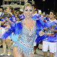 A ex-panicat Carol Narizinho estará no desfile da Acadêmicos do Tatuapé, quinta escola a cruzar a avenida no segundo dia em São Paulo