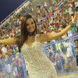 Carol Nakamura vai ser musa da Viradouro, escola de samba que abrirá os desfiles do Grupo Especial do Rio de Janeiro