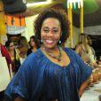 A atriz Dhu Moraes também estará no desfile da Viradouro
