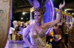Viviane Araújo e Cris Vianna exibem boa forma durante Carnaval de 'Império'