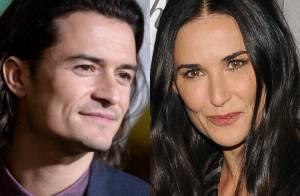 Orlando Bloom e Demi Moore estariam iniciando um romance, diz jornal