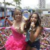 Anitta é coroada rainha do bloco infantil de Carla Perez: 'Primeira vez!'