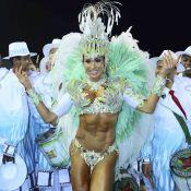 Gracyanne Barbosa fecha desfiles do Carnaval de SP e mostra boa forma na Avenida