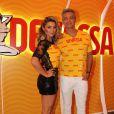 Flávia Alessandra e Otaviano Costa foram escolhidos por representarem o espírito ousado e divertido da marca