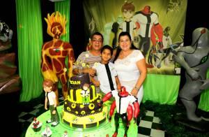 Zeca Pagodinho comemora aniversário do neto Noah com festa no Rio