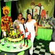 Zeca Pagodinho comemora aniversário do neto Noah, cujo tema é o personagem Ben 10
