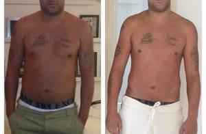 Adriano Imperador perde peso e mostra em foto: 'O que vocês estão achando?'