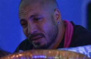 'BBB15': Fernando chora ao pensar em Aline. 'Não sei o que acontece lá fora'
