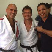 Cláudio Heinrich, ex-'Malhação', dá aulas de jiu-jítsu: 'A vida imita a arte'