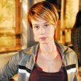 Em 'A Favorita', de 2008, a bela interpretou Lara, com os fios loiros e curtos