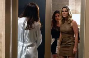 'Salve Jorge': Lívia (Claudia Raia) manda matar Érica (Flávia Alessandra)