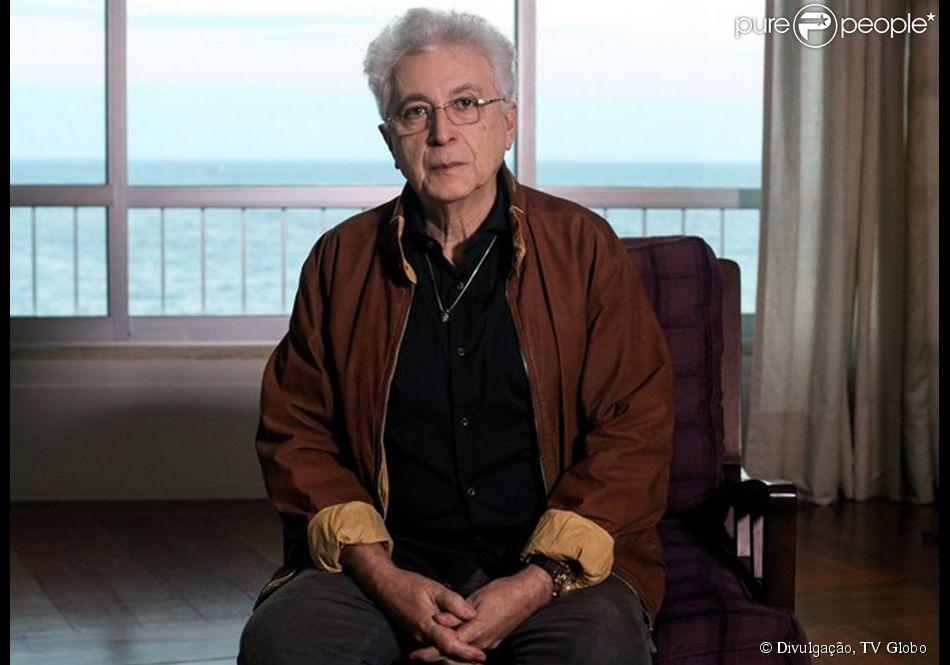 'Império': Aguinaldo Silva vai aparecer no final da novela em cena com Téo Pereira