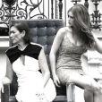 Marina Ruy Barbosa e Lilia Cabral gravam os últimos momentos da novela 'Império'
