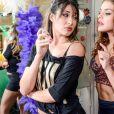Paloma Bernardi contracena com Giselle Itié na série 'As Canalhas', do GNT