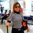 A mãe de Wanessa voltou para São Paulo depois de acertar os últimos detalhes de sua estreia na TV. 'Cheia de planos'