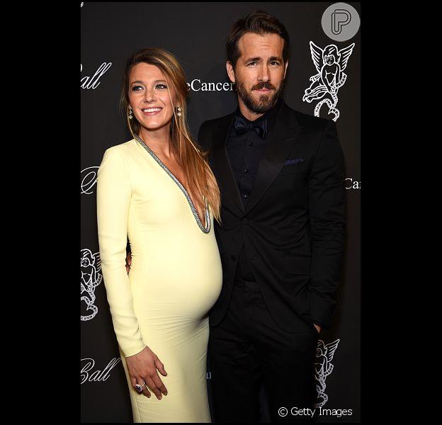 Ryan Reynolds e Blake Lively revelam o nome da filha: 'É James'