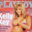 Kelly Key foi capa da revista 'Playboy' em dezembro de 2002