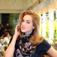 Sophia exibe o novo corte de cabelo por causa de personagem na novela 'Alto Astral'