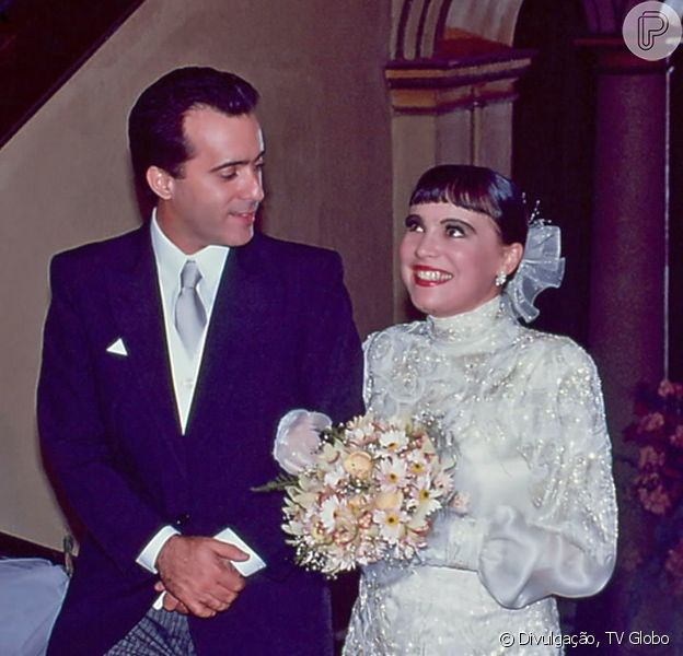 Tony Ramos e Regina Duarte foram os protagonistas de 'Rainha da Sucata', novela escrita por Silvio de Abreu e que foi ao ar há 25 anos