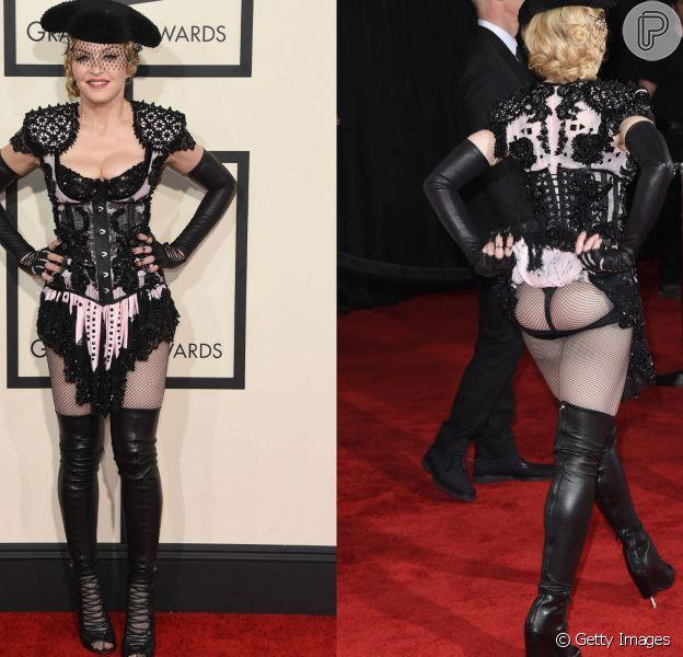 Madonna é adepta da dieta Lunar. A restrição a faz perder 3 kg em 24 horas e consiste em comer de acordo com o ciclo lunar que afeta a água do corpo e emagrece. Ela também faz a Dieta do Ar, na qual põe a comida no prato, mas só pode cheirar