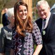 Kate Middleton está grávida de sete meses