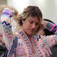 Em uma de suas viagens, Giovanna Ewbank foi fotografada no aeroporto sem maquiagem