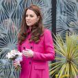 Kate Middleton repete o look rosa na reta final da gravidez de seu segundo filho