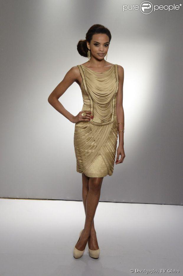 Lucy Ramos interpreta Sheila na novela 'Salve Jorge'