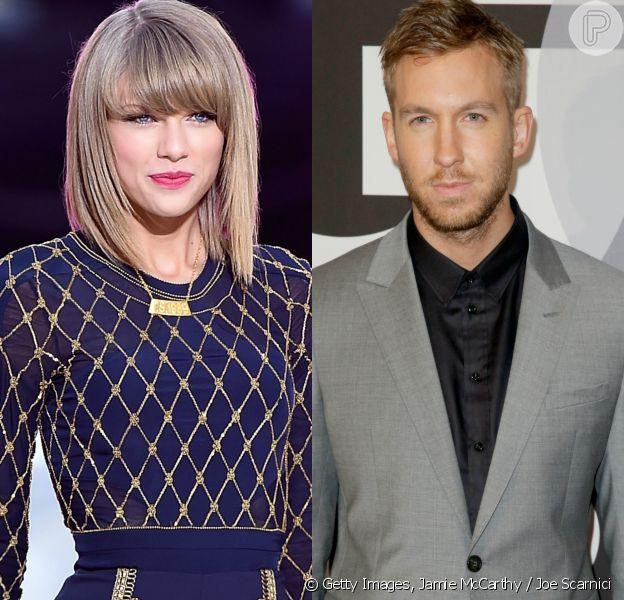 Namoro de Taylor Swift e Calvin Harris é confirmada pela revista americana 'US Weekly'