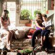 No último capítulo de 'Salve Jorge', Lucimar (Dira Paes) conta para Junior (Luiz Felipe Mello) que Jéssica Vitória é sua irmã