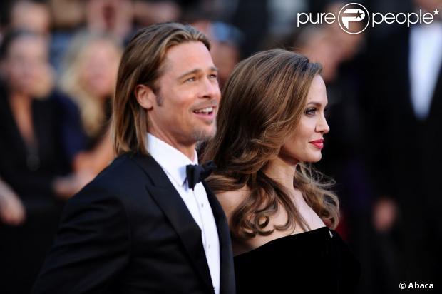 Brad Pitt apoia a decisão de Angelina Jolie retirar os seis, em 14 de maio de 2013