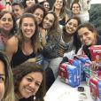 Pouco antes de dar à luz, Dani Monteiro recebeu o carinho da equipe do programa 'Mais Você', que organizou um chá de fralda para a repórter