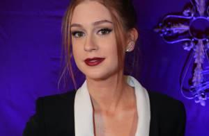 Marina Ruy Barbosa usa look decotado para lançar 'Amorteamo': 'Incrível'