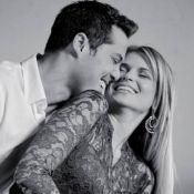 Susana Werner e Julio Cesar comemoram 10 anos de casados