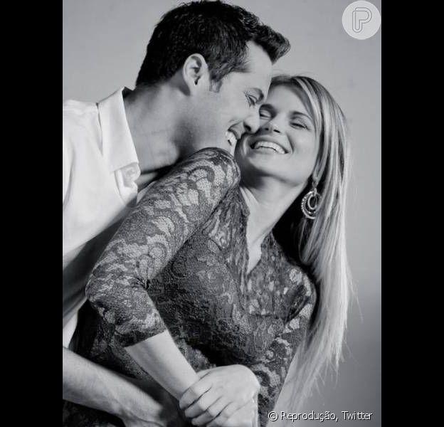 Susana Werner e Júlio César comemoram 10 anos juntos