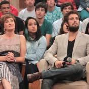 Rafael Cardoso se derrete ao falar de Sônia Bridi: 'Sou babão pela minha sogra'