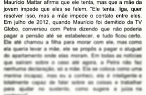 Filha de Maurício Mattar rebate declarações do advogado do pai: 'Tá piadista'