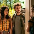 Maria Flor, Jayme Matarazzo e Isabelle Drummond vivem um triângulo amoroso, em 'Sete Vidas'