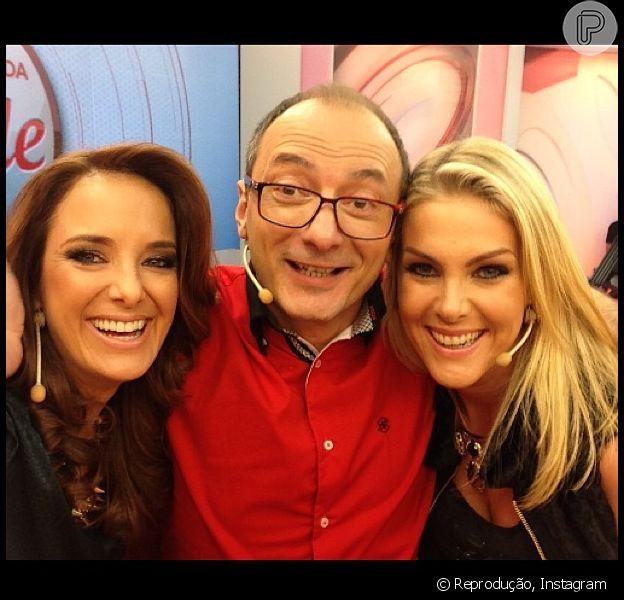 Ticiane Pinheiro, Britto Jr. e Ana Hickmann podem ficar tranquilos por enquanto, já que o 'Programa da Tarde' está confirmado na grade da TV Record por algum tempo ainda, afirma a assessoria da emissora, nesta quinta-feira, 23 de maio de 2013