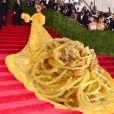 Vestido de Rihanna virou alvo de piadas na internet