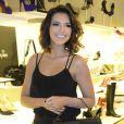 Mariana Rios usa saia curta com fenda e exibe look sensual em coquetel em São Paulo, nesta quinta-feira, 7 de maio de 2015