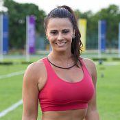 Viviane Araújo mostra força nas pernas e vence famosas em desafio de ginástica