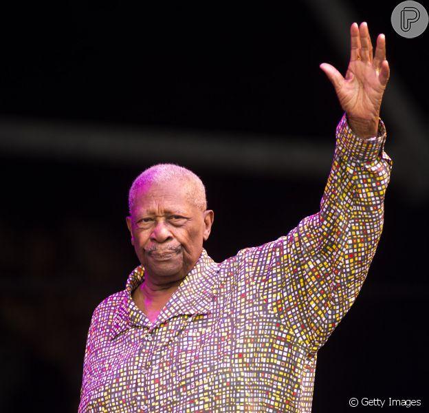 Morre o músico B.B. King, aos 89 anos, nos Estados Unidos, em 14 de maio de 2015