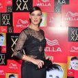 Adriana Birolli comparece à  festa de 50 anos da Xuxa