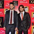 A dupla sertaneja Munhoz e Mariano compareceu a  festa de 50 anos da Xuxa