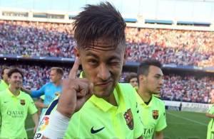 Neymar é campeão espanhol após Barcelona vencer jogo com gol de Messi: 'Viva'