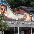 Coletiva de imprensa de 'Se Beber, Não Case - Parte III' foi no Morro da Urca