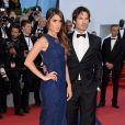 Ian Somerhalder e a mulher, Nikki Reed no 8º dia do Festival de Cannes, nesta quarta-feira, 20 de maio de 2015