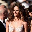 Izabel Goulart prestigia o 8º dia do Festival de Cannes, nesta quarta-feira, 20 de maio de 2015