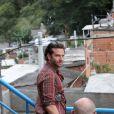 Bradley Cooper é fotografado no morro Dona Marta